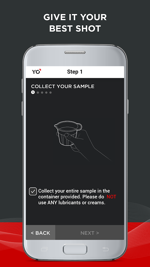 YO Home Sperm Test- screenshot