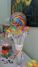 Photo: Elegant and Original Candy Buffet Tables by http://www.BestPartyPlanner.net