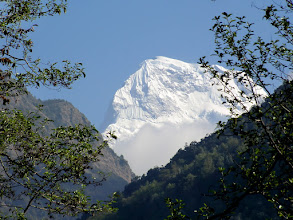 Photo: Annapurna South (7219m)