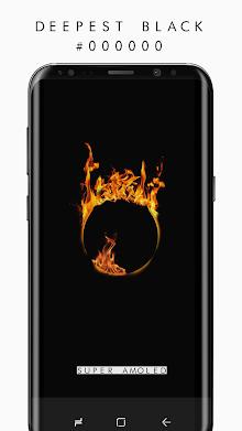 True BLACK AMOLED 4K PRO Wallpapers (2960x1440) screenshot 5