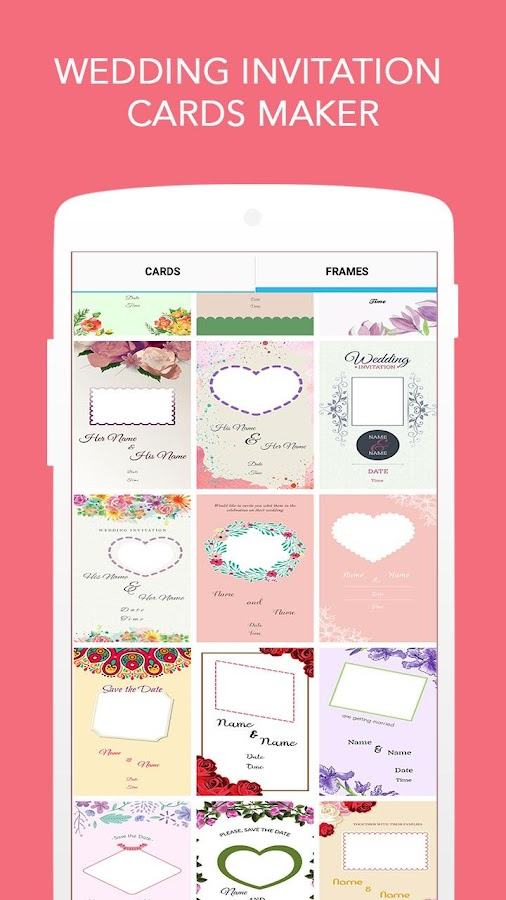 Wedding Invitation Cards Maker Screenshot