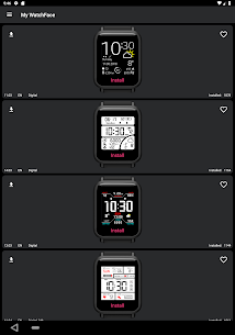 My WatchFace for Amazfit Bip 10