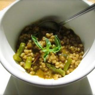 Barley Asparagus Soup