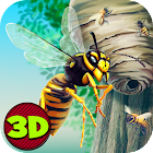 City Insect Wasp Simulator 3D icon