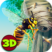 City Insect Wasp Simulator 3D