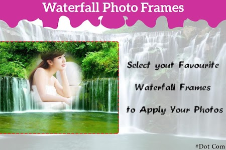 Waterfall Photo Frame screenshot 0