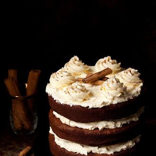 Cinnamon Chocolate Cake with Salted Honey Buttercream.