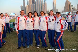 Photo: L'équipe de VR4 Féminin  @ Dubaï, WPC 2012
