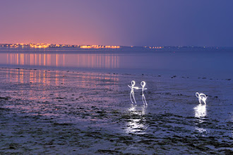 Photo: Free Lights - Light painting by Christopher Hibbert, french photographer and light painter. Further information: http://www.christopher-hibbert.com