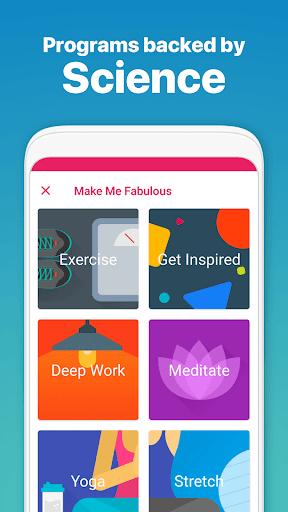 Fabulous: Daily Planner & Self-Care Habit Tracker screenshot 6