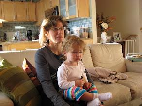 Photo: Watching Baby Einstein with Mommy