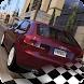 City Traffic Audi A3 hybrid car driving parking