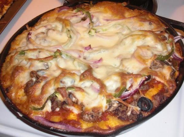 Deep Dish Italian Sausage Pizza Recipe