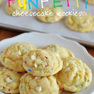 FUNFETTI Cheesecake Cookies.