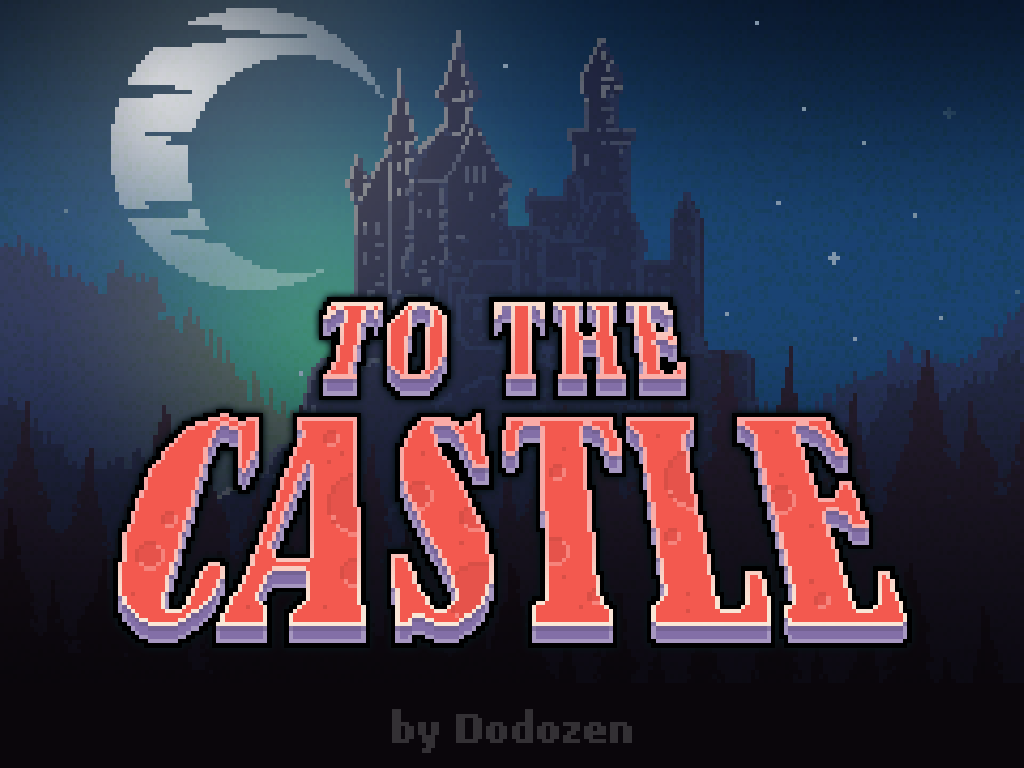 To The Castle:Retro platformer- screenshot