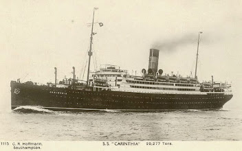Photo: CARINTHIA (CUNARD WHITE STAR LINE)