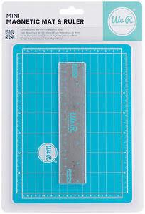 We R Memory Keepers Mini Magnetic Cutting Mat & Ruler Set