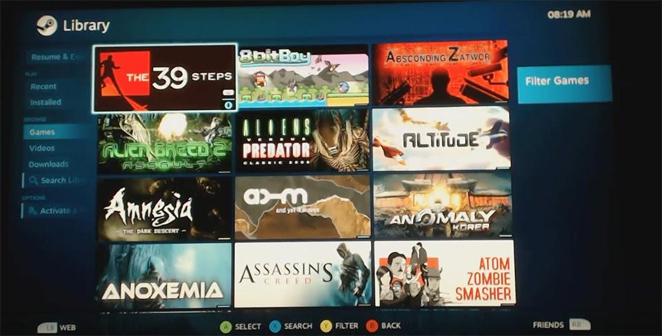 Độ PS4 để chơi game của Steam