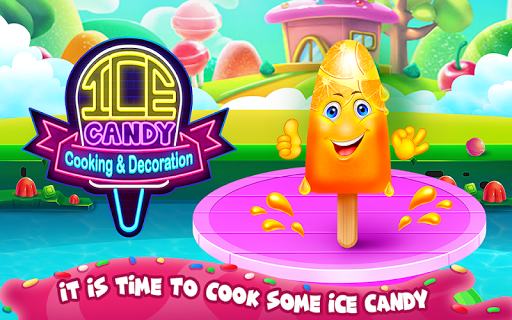 Ice Candy Cooking and Decoration 1.0.0 screenshots 1