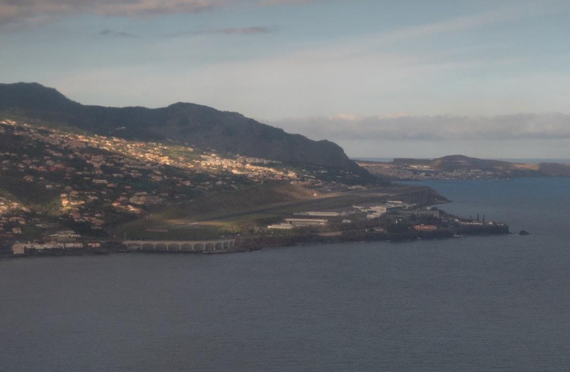 Funchal airport, Madeira