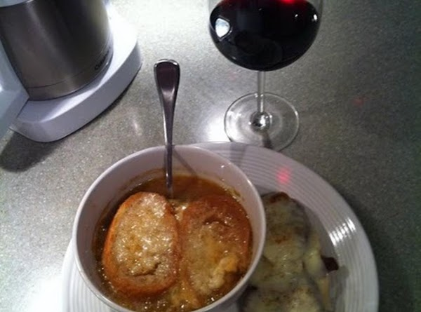 French Onion Soup With Cheese Recipe