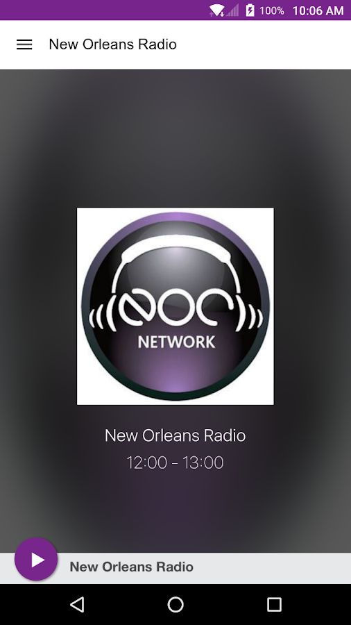 New Orleans Radio- screenshot