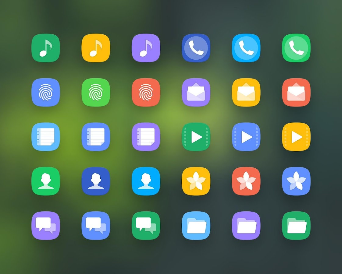 Grace UX - Icon Pack- screenshot