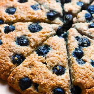 Gluten-Free Blueberry Oatmeal Scones [+Dairy-Free].