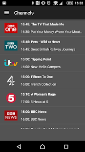 TVCatchup - Watch Free Live TV- screenshot thumbnail