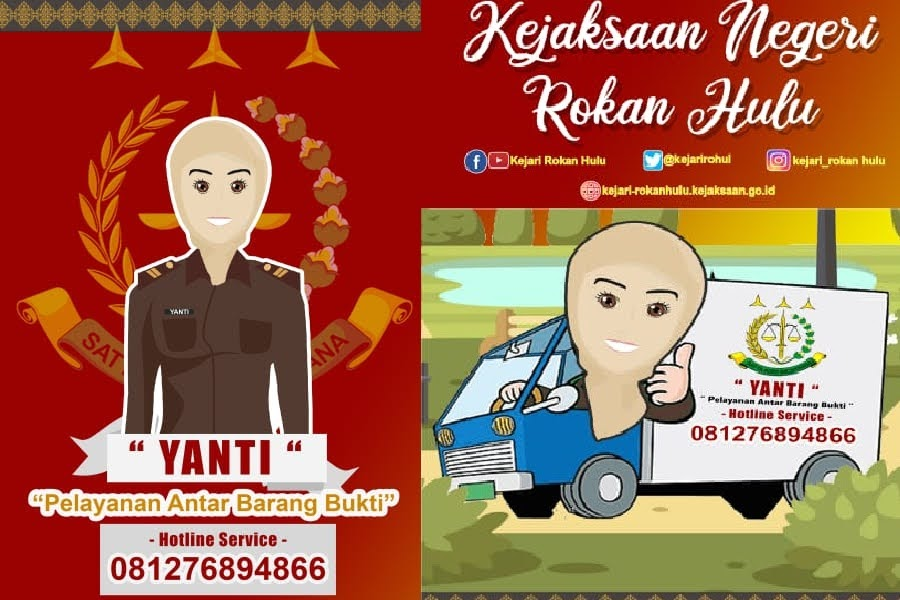 Warga Pasir Jambu Terima Sepeda Motor Program 'Yanti' Dari Kejari Rohul