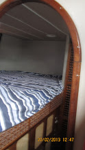 Photo: Port aft bunk 1.6x2m