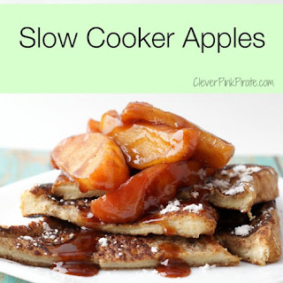 Baked Slow Cooker Apples