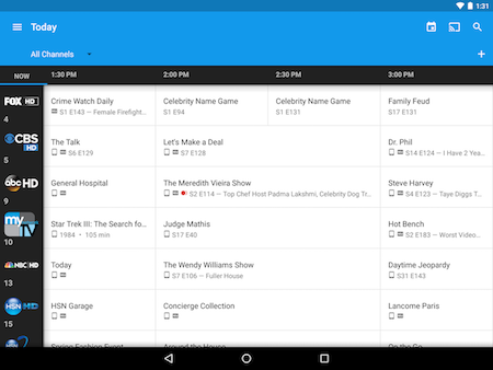 Create custom guides in the Google Fiber TV app on Android.