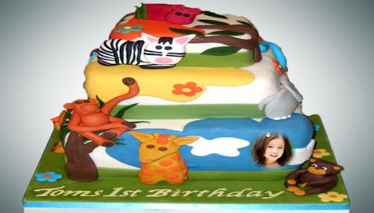 85 Birthday Cake Photo Frames Birthday Apk Name Photo On Birthday