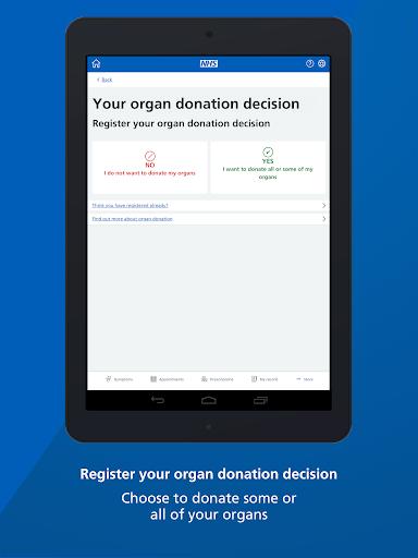 NHS App screenshot 18