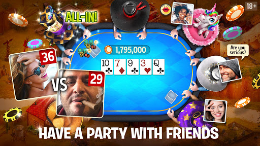 Governor of Poker 3 - Texas Holdem With Friends filehippodl screenshot 2