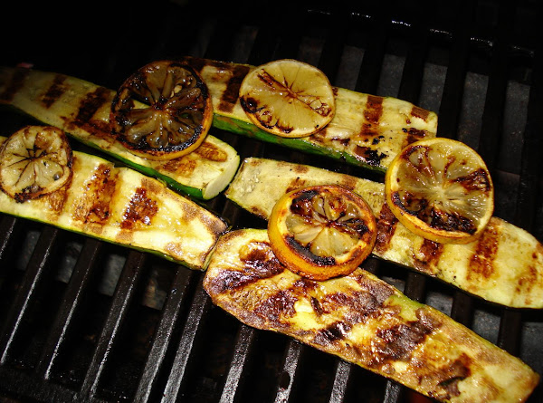 Grilled Lemon Zucchini Recipe