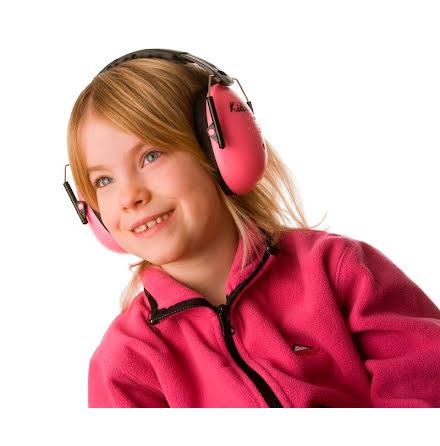 A-Safety Hörselskydd, Neonrosa