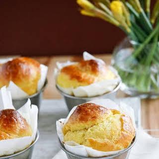 Buttery Saffron Brioche.