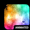 Color Rain Animated Keyboard + Live Wallpaper icon