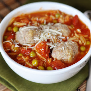 Meatball Soup with Pasta
