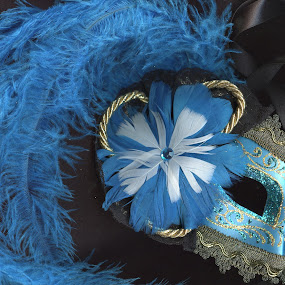 Italian Mask by Laura Stiers - Artistic Objects Clothing & Accessories ( vintage, elegant, mask, italy, scanner )