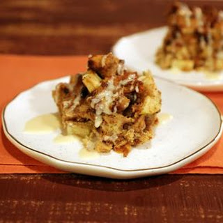 Cinnamon Raisin Bread Pudding.