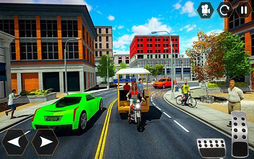 Code Triche Female Chingchi Driver: City tuk tuk QINGQI taxi apk mod screenshots 3