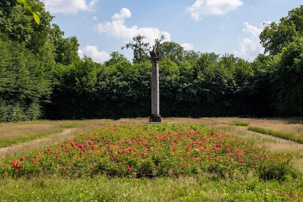 Ogrody w Nieborowie, Nieborów, gabinet ogrodowy