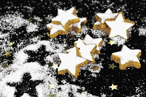 TWINKLE TIME: Cinnamon star biscuits will light up your Christmas table