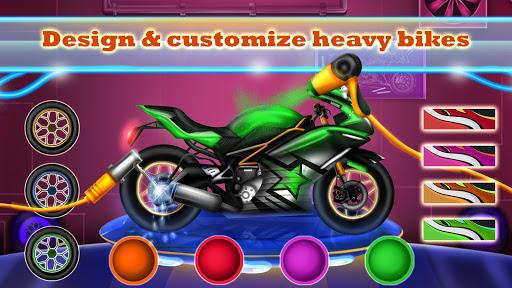 Sports Motorcycle Factory: Motorbike Builder Games  screenshots 9