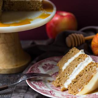Apple Honey Cake.