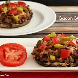 Paleo Bacon Burgers