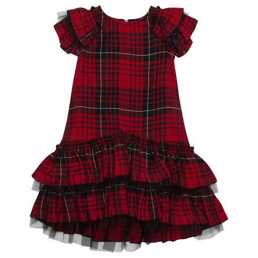 Primary image of Monnalisa Tartan Dress